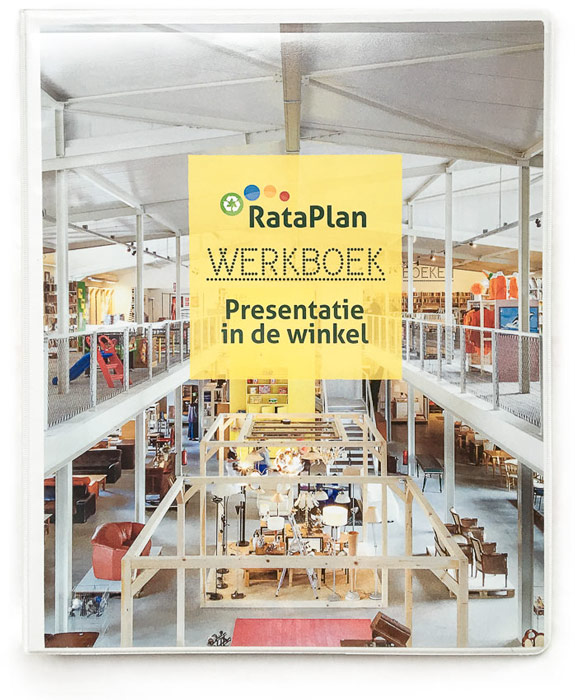 Rataplan cover werkboek map