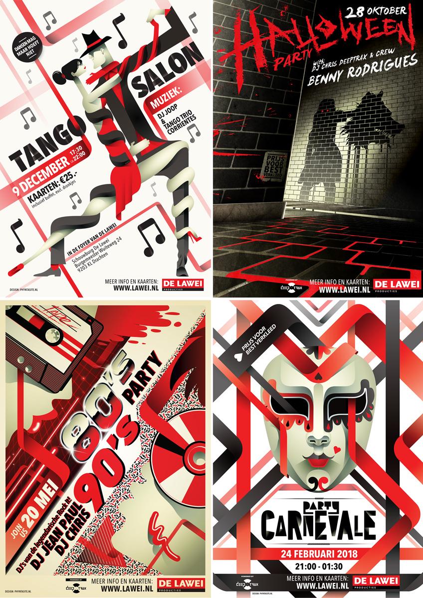 De Lawei Posters